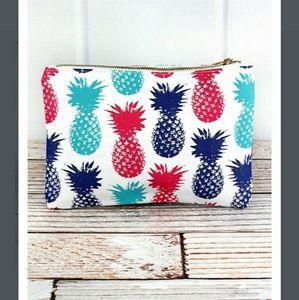 Handbags - New Pineapple Cosmetic Bag!